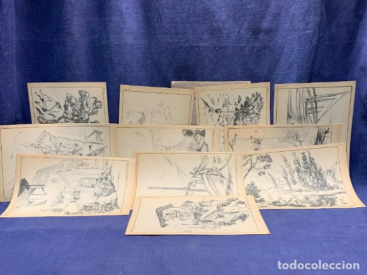 Arte: 7 SERIES LAMINAS DIBUJO ARTISTICO EMILIO FREIXAS LECCIONES DIBUJO ARTISTICO 27X18CMS - Foto 174 - 265161059