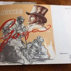 Arte: LÁMINAS DE GOYA AÑOS 70 EN SU SOBRE ORIGINAL. Lote 265783164