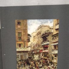 Arte: CARNAVAL EN ROMA DE FRANCISCO PRADILLA, PLANCHA Nº 569 DE MEISTER DER FARBE 1911,. Lote 266062913