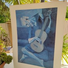 Arte: EL GUITARRISTA CIEGO PABLO R.PICASSO. Lote 266287468