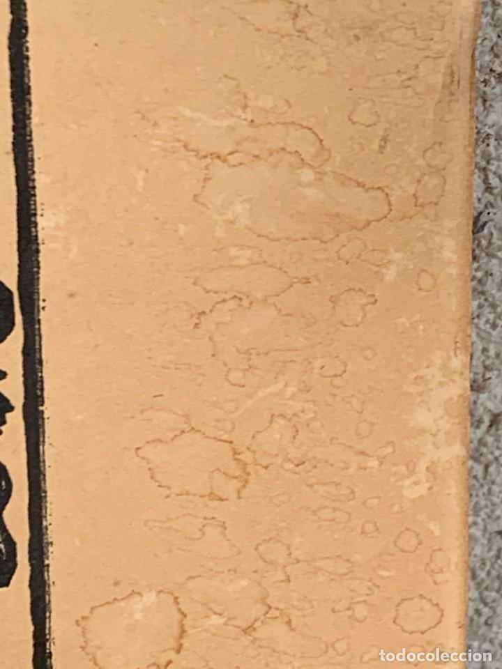 Arte: HOJA IMPRESA MOJIGANGA SILUETA IMPRESO PAPEL SIGLO XIX CARROZA CABALLOS DESFILE FIESTA 35X49CMS - Foto 16 - 267240399