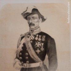 Arte: 14 - LÁMINA DE MANFREDO FANTI - COMANDANTE GENERAL DEL EJÉRCITO DE LA ITALIA CENTRAL. Lote 269139358