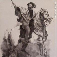 Arte: 14 - LÁMINA DE MANFREDO FANTI - COMANDANTE GENERAL DEL EJÉRCITO DE LA ITALIA CENTRAL. Lote 269140498
