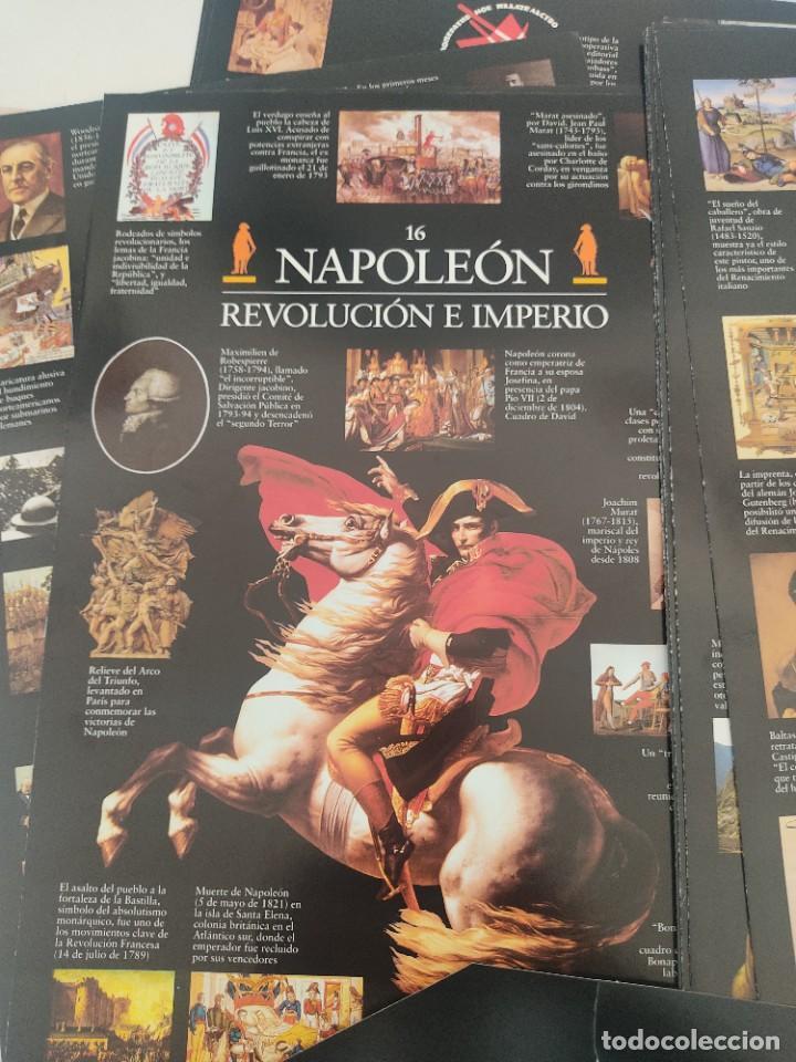 Arte: Escenarios de la Historia. El País Aguilar 1995. Carpeta con 21 cuadernos temáticos - Foto 6 - 271577058