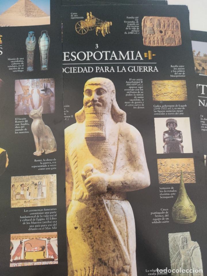 Arte: Escenarios de la Historia. El País Aguilar 1995. Carpeta con 21 cuadernos temáticos - Foto 8 - 271577058