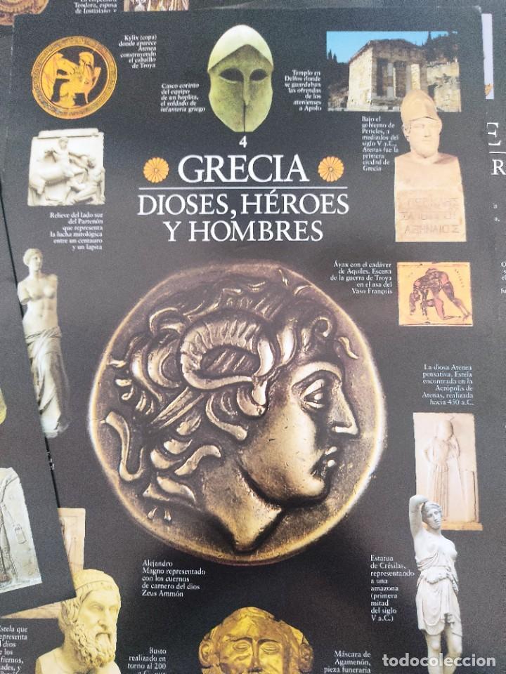 Arte: Escenarios de la Historia. El País Aguilar 1995. Carpeta con 21 cuadernos temáticos - Foto 9 - 271577058