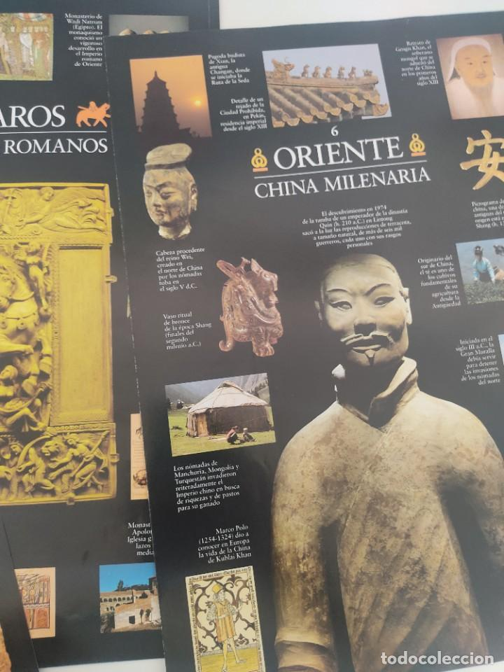 Arte: Escenarios de la Historia. El País Aguilar 1995. Carpeta con 21 cuadernos temáticos - Foto 11 - 271577058