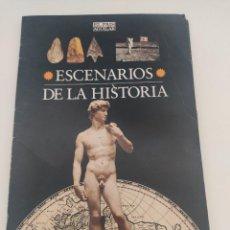 Arte: ESCENARIOS DE LA HISTORIA. EL PAÍS AGUILAR 1995. CARPETA CON 21 CUADERNOS TEMÁTICOS. Lote 271577058