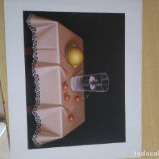 Arte: M-38 LAMINA DE CEREZAS Y LIMON. Lote 273123793