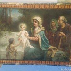 Arte: PRECIOSA LÁMINA ANTIGUA FIRMADA. Lote 275532233