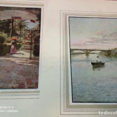 Arte: 2 CUATRITOMIAS SEVILLA AÑO 1905. Lote 276094093