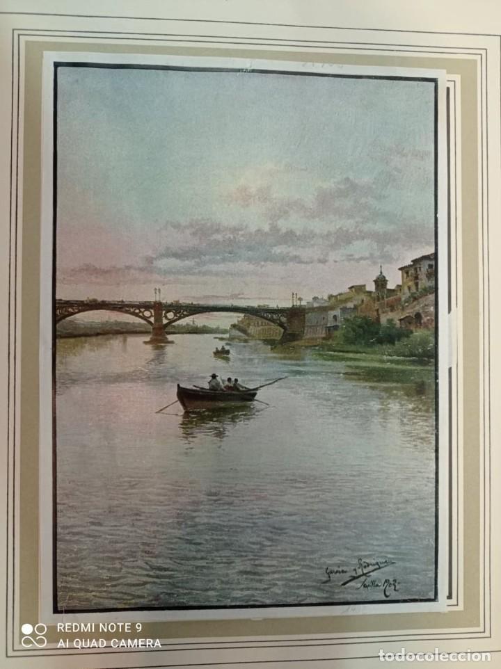 Arte: 2 CUATRITOMIAS SEVILLA AÑO 1905 - Foto 2 - 276094093