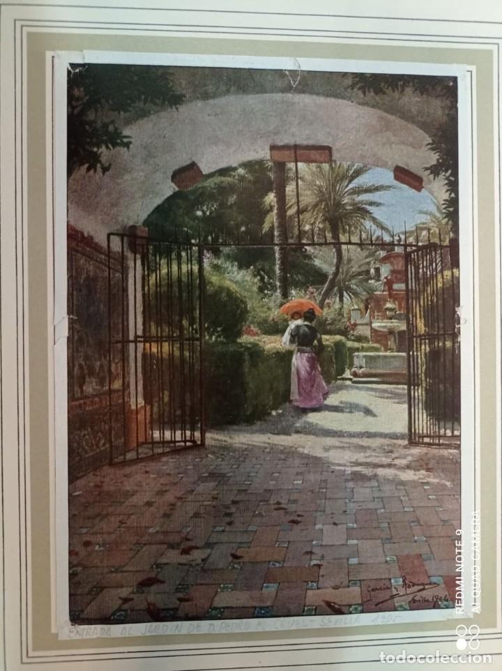 Arte: 2 CUATRITOMIAS SEVILLA AÑO 1905 - Foto 3 - 276094093