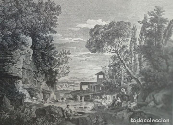 Arte: 4 LAMINAS ANTIGUAS (GOYA Y 3 MAS) - Foto 5 - 276262768