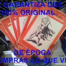 Arte: 12 CARPETAS LAMINAS EMILIO FREIXAS LECCIONES DE DIBUJO ARTISTICO U52. Lote 277713948