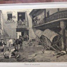Arte: LAMINA ANTIGUA DE 1873 PRADILLA. Lote 287330718