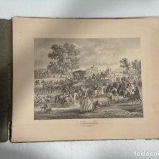 Arte: VIAJE PINTORESCO POR LA ESPAÑA DEL SIGLO XVIII - COLECCIÓN COMPLETA DE 12 VISTAS.. Lote 287963023