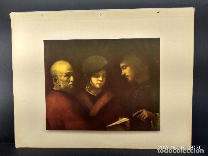 LAS TRES EDADES , DIE GALERIEN EUROPAS, PLANCHA A COLOR Nº 335 (Arte - Láminas Antiguas)