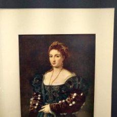 Arte: BELLA DE TIZIANO, DIE GALERIEN EUROPAS, PLANCHA A COLOR Nº 318. Lote 288432213