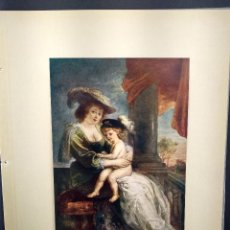 Arte: RETRATO DE HELENE FOURMENT DE RUBENS, DIE GALERIEN EUROPAS, PLANCHA A COLOR Nº 266. Lote 288432318