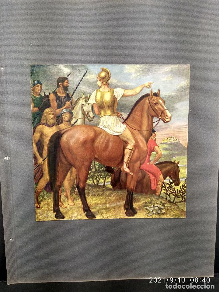 EL GENERAL DE ARTUR VOLKMANN, PLANCHA Nº 633 DE MEISTER DER FARBE 1912, (Arte - Láminas Antiguas)