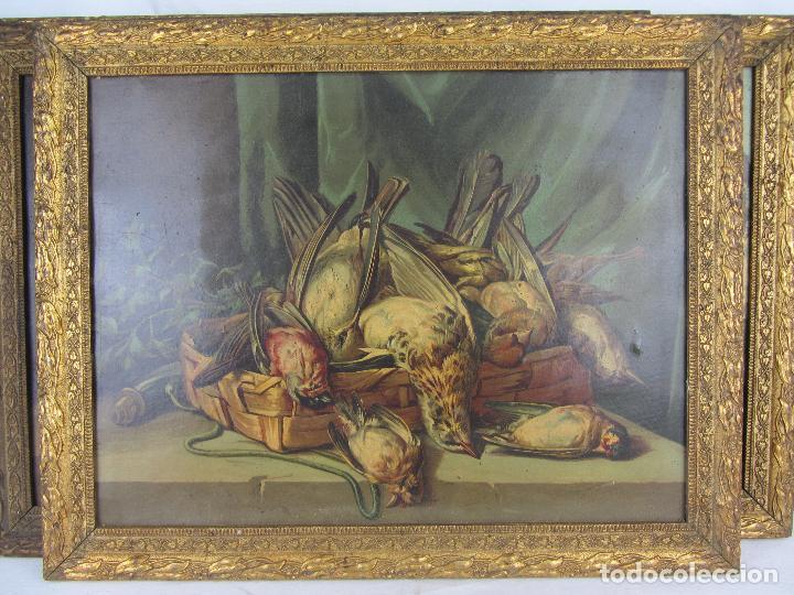 Arte: Seis estampas enmarcadas final de siglo XIX, principio del XX - Foto 2 - 288457393