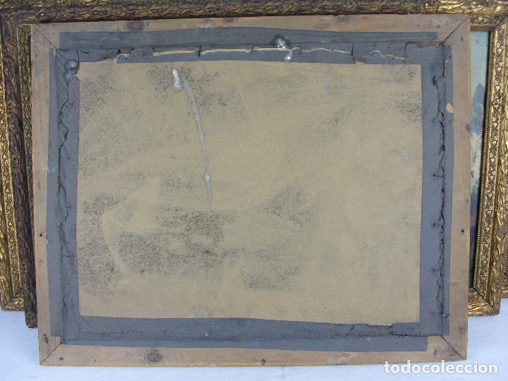 Arte: Seis estampas enmarcadas final de siglo XIX, principio del XX - Foto 6 - 288457393