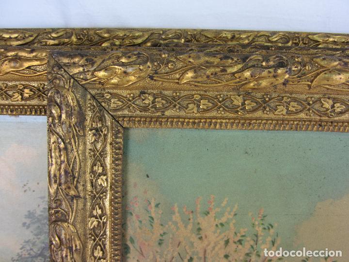 Arte: Seis estampas enmarcadas final de siglo XIX, principio del XX - Foto 13 - 288457393