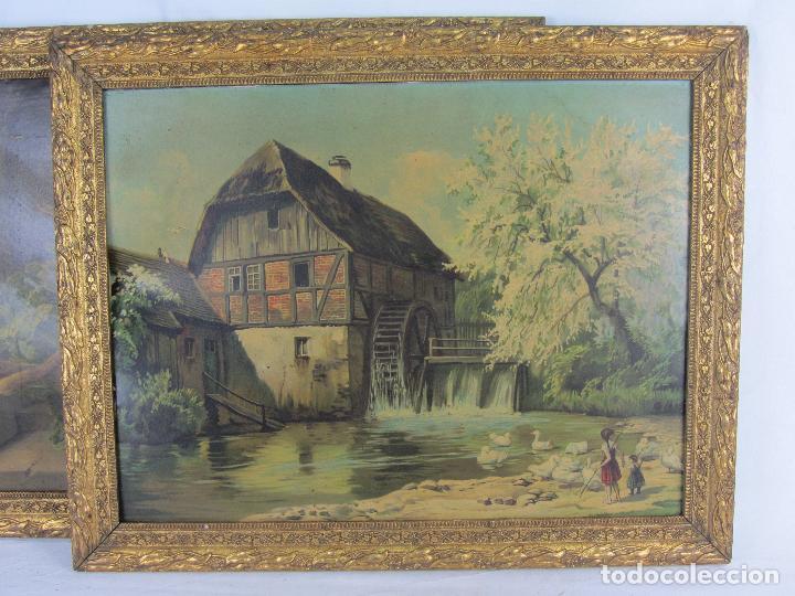 Arte: Seis estampas enmarcadas final de siglo XIX, principio del XX - Foto 17 - 288457393