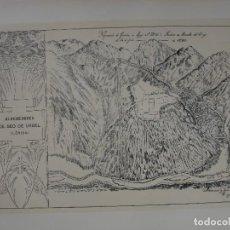 Arte: ALREDEDORES DE SEO DE URGEL N 1692 25X17. Lote 289311183