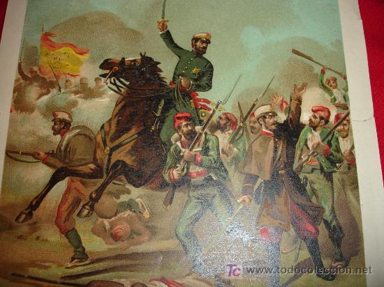 General prim en la guerra de marruecos magnifi - Sold