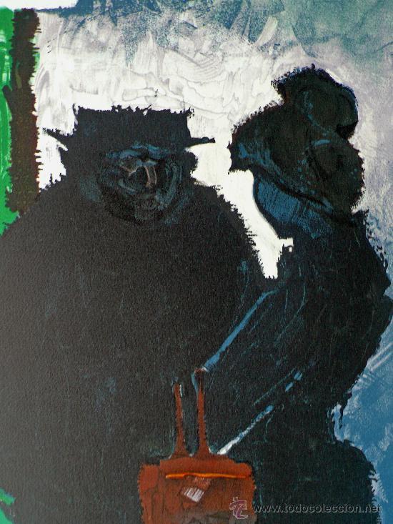 LITOGRAFIA DE RENE GALANT (1914 -1997) (Arte - Litografías)