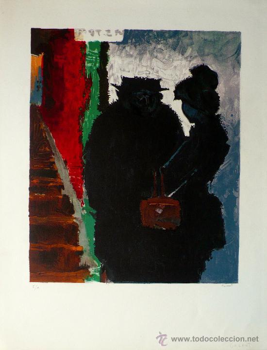 Arte: LITOGRAFIA DE RENE GALANT (1914 -1997) - Foto 2 - 26875527