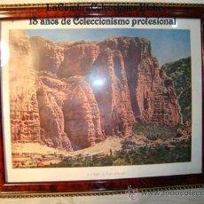 Arte: ANTIGUO CUADRITO, LITOGRAFIA, ENMARCADO.. Lote 15095477