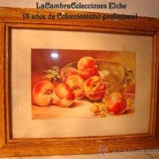 Arte: ANTIGUO CUADRITO, LITOGRAFIA, ENMARCADO. . Lote 15095696