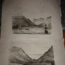 Arte: GRABADO O LITOGRAFIA DEL LIBRO VIAJE PINTORESCO ALREDEDOR DEL MUNDO. Lote 15206575