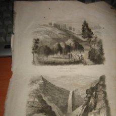 Arte: GRABADO O LITOGRAFIA DEL LIBRO VIAJE PINTORESCO ALREDEDOR DEL MUNDO. Lote 15206583
