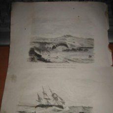 Arte: GRABADO O LITOGRAFIA DEL LIBRO VIAJE PINTORESCO ALREDEDOR DEL MUNDO. Lote 15206588