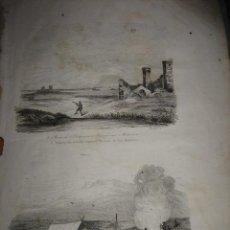 Arte: GRABADO O LITOGRAFIA DEL LIBRO VIAJE PINTORESCO ALREDEDOR DEL MUNDO. Lote 15206605