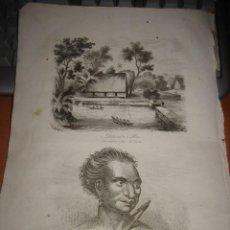 Arte: GRABADO O LITOGRAFIA DEL LIBRO VIAJE PINTORESCO ALREDEDOR DEL MUNDO. Lote 15206648