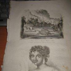 Arte: GRABADO O LITOGRAFIA DEL LIBRO VIAJE PINTORESCO ALREDEDOR DEL MUNDO. Lote 15206820