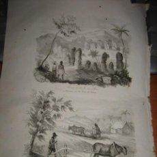 Arte: GRABADO O LITOGRAFIA DEL LIBRO VIAJE PINTORESCO ALREDEDOR DEL MUNDO. Lote 15206862