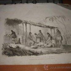 Arte: GRABADO O LITOGRAFIA DEL LIBRO VIAJE PINTORESCO ALREDEDOR DEL MUNDO. Lote 15206867