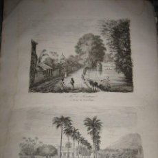 Arte: GRABADO O LITOGRAFIA DEL LIBRO VIAJE PINTORESCO ALREDEDOR DEL MUNDO. Lote 16204819