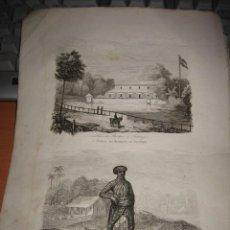 Arte: GRABADO O LITOGRAFIA DEL LIBRO VIAJE PINTORESCO ALREDEDOR DEL MUNDO. Lote 15206983