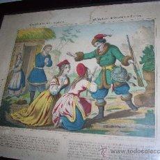 Arte: LITOGRAFIA FRANCESA SIGLO XIX.ELISABETH EN SIBERIA LITH.POR FR.WENTZEL A WISSEMBOURG. Lote 27210391
