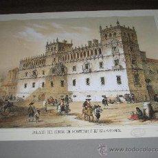 Arte: LITOGRAFIA PALACIO DEL CONDE DE MONTERREY EN SALAMANCA - 24,50 X19 CM.. Lote 26209927