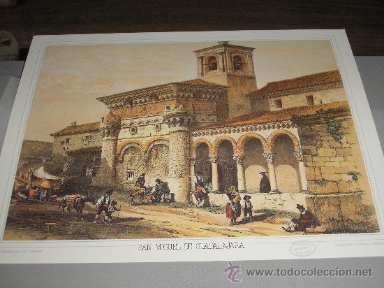 LITOGRAFIA SAN MIGUEL DE GUADALAJARA - 24,50 X 19 CM. (Arte - Litografías)
