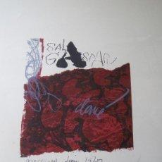Arte: CLAVE, A. (1913-2005). LITOGRAFIA 1970. NUMERADA. FIRMADA.. Lote 26743718