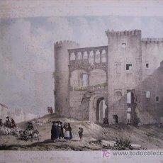 Arte: VILLA AMIL, G.P.: ' CASTILLO DE ALBA DE TORMES '. AUTÉNTICO DE 1842. (PARÍS: IMP. LEMERCIER). Lote 59975317